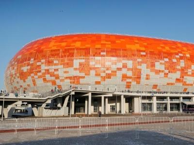 俄罗斯世界杯前夕 走进莫尔多维亚竞技场