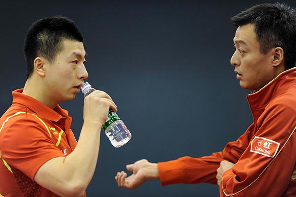 41岁秦志戬凭啥接班刘国梁 12年里已带出两位奥运冠军