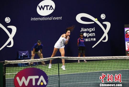 江西网球公开赛:扬科维奇晋级段莹莹遭淘汰