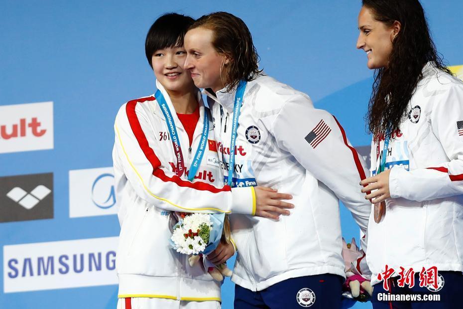 15岁小将李冰洁摘世锦赛女子800米自由泳银牌