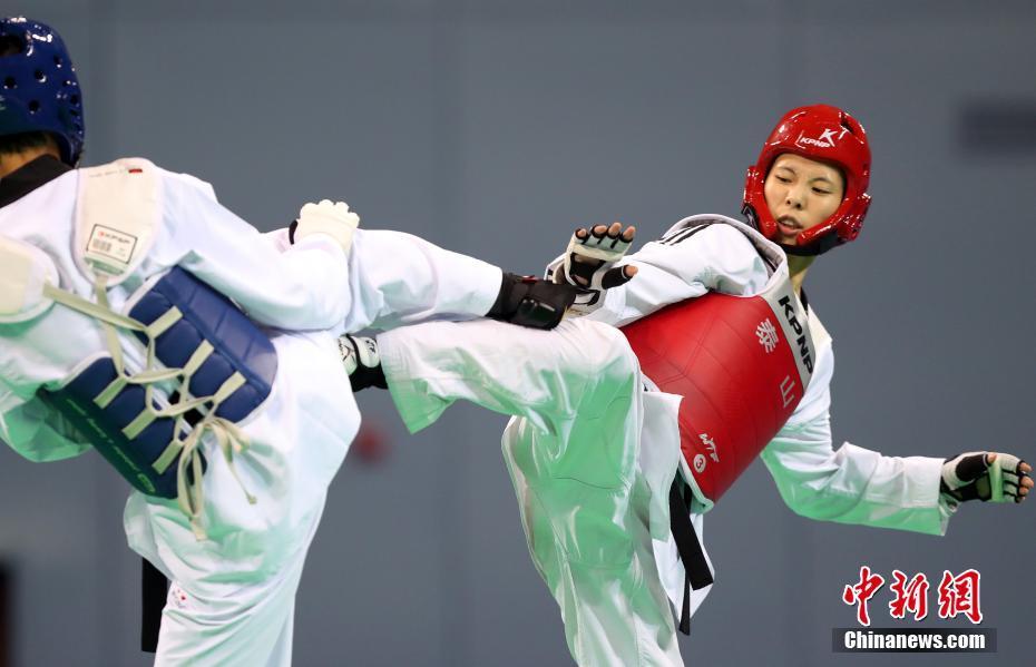 周美玲夺得全运会跆拳道女子57公斤级冠军