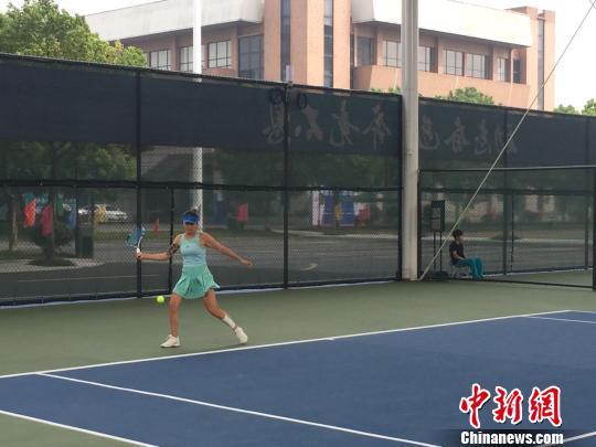 全国学生运动会女子网球赛落幕单、双打冠军花落浙江