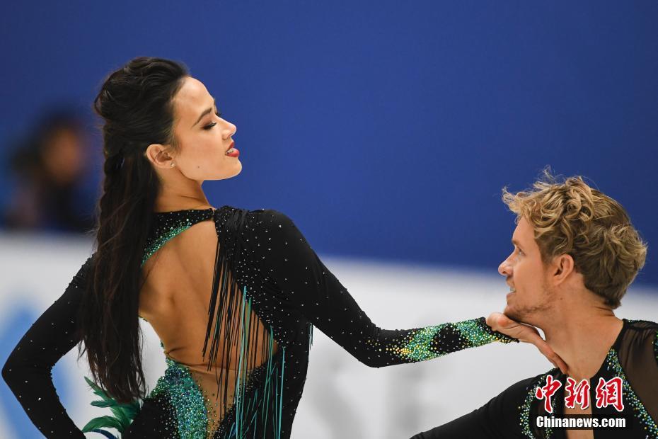 2017中国杯世界花样滑冰大奖赛在北京举行