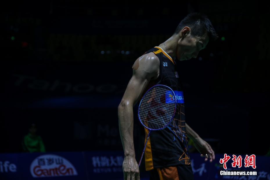 2017中羽赛 李宗伟不敌香港选手伍家朗无缘四强