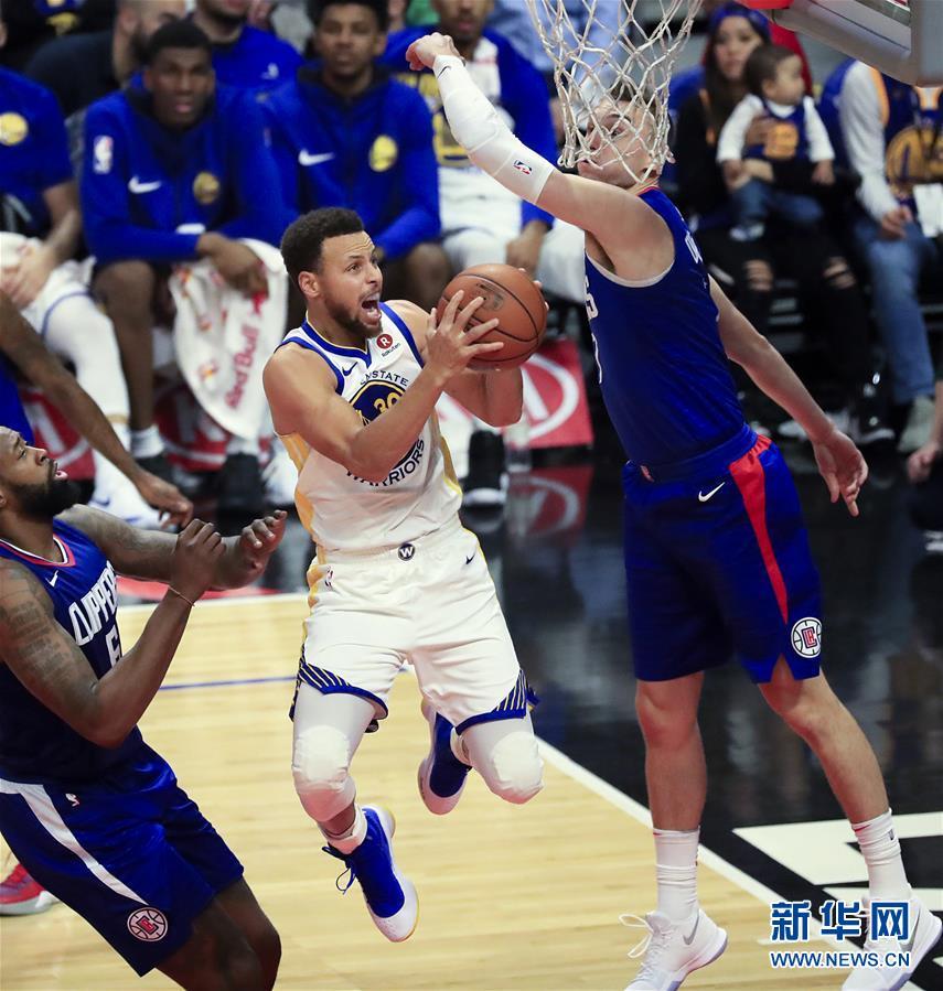 (体育)(3)篮球——NBA常规赛:勇士胜快船
