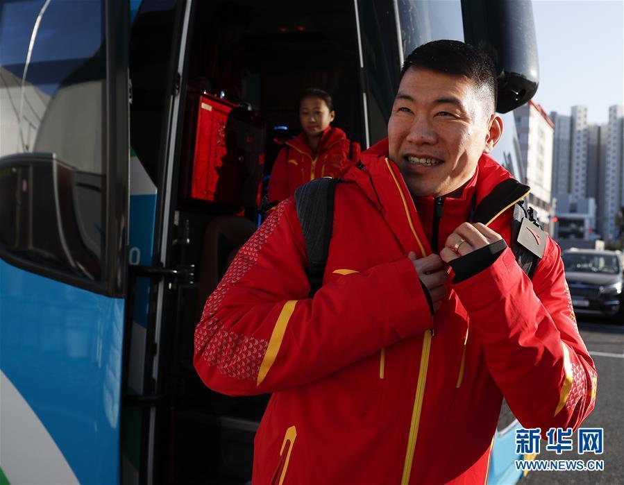 中国代表团成员陆续抵达平昌