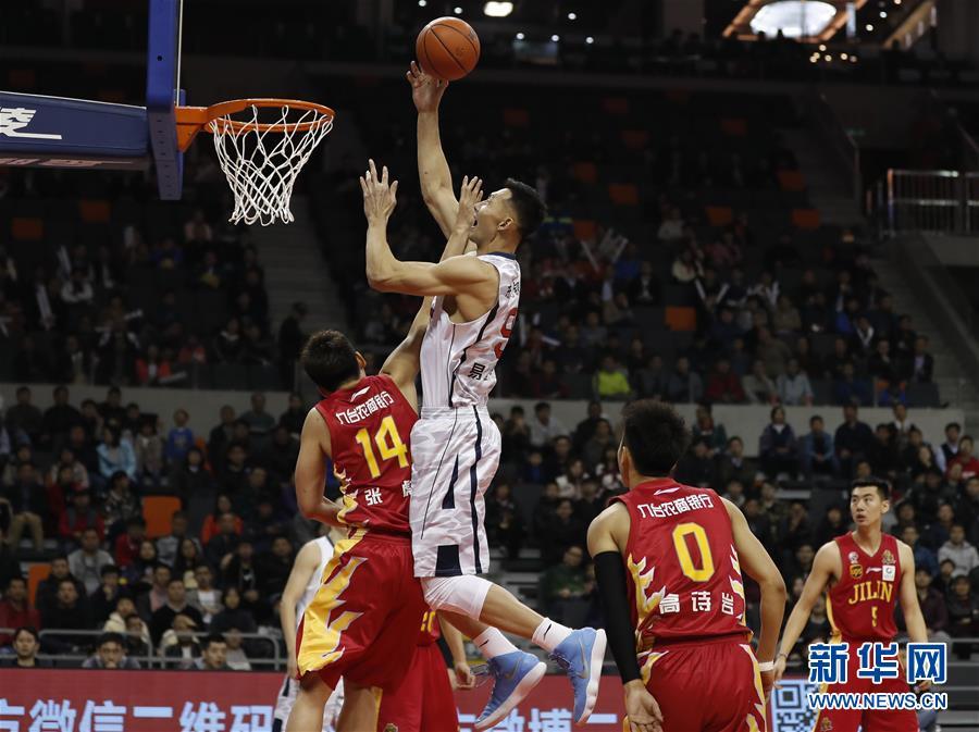 (体育)(1)篮球——CBA常规赛:广东东莞银行对阵吉林九台农商银行