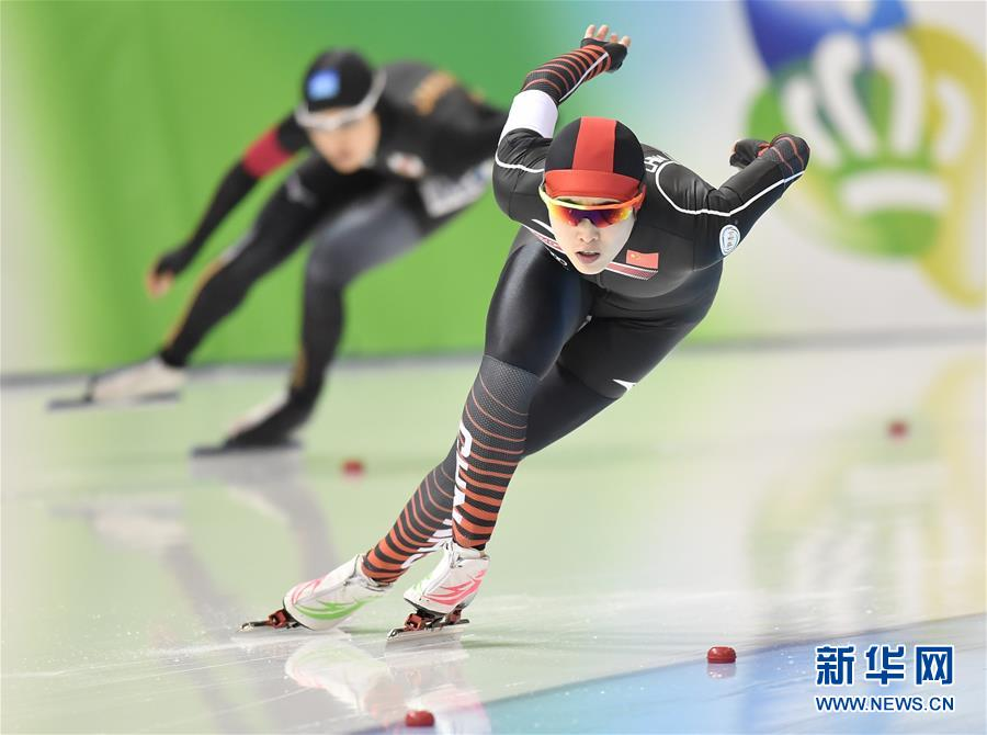 (体育)(1)速度滑冰——世界短距离锦标赛:女子全能赛况