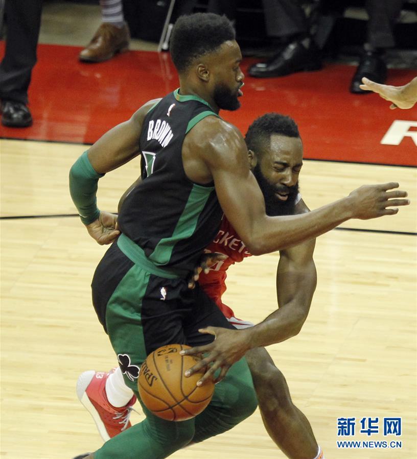 (体育)(1)篮球——NBA常规赛:火箭胜凯尔特人