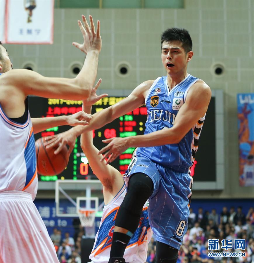 (体育)(3)篮球——CBA季后赛:北京首钢胜上海哔哩哔哩