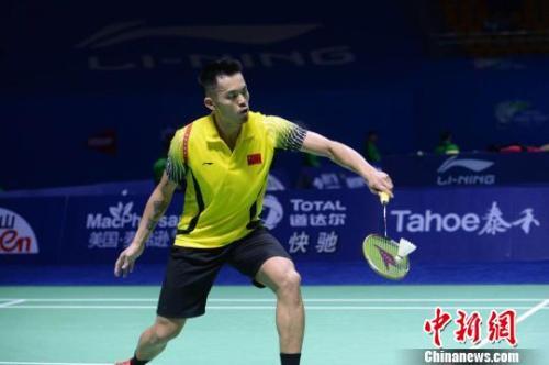 资料图:中国选手林丹。 李洋 摄