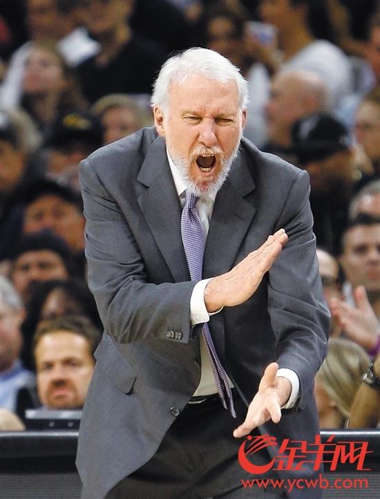 """波波维奇堪称NBA教练界的""""活化石"""""""