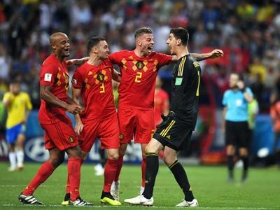 五星巴西出局 德布劳内爆射助比利时2:1获胜