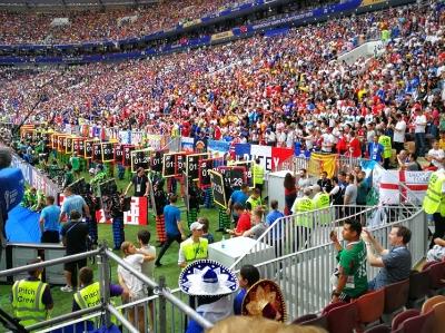 世界杯决赛开始前的那些精彩场外场内瞬间