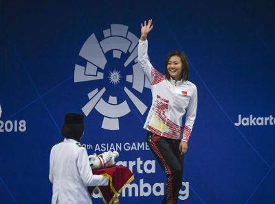 刘湘破世界纪录夺金