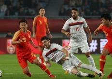 热身赛国足2:0叙利亚 破四场比赛进球荒