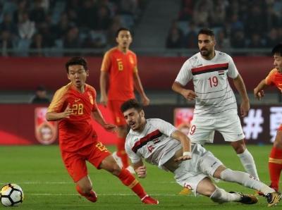 熱身賽國足2:0敘利亞 破四場比賽進球荒