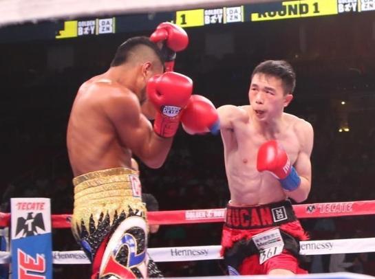中国第三位世界拳王诞生 徐灿夺得WBA羽量级金腰带