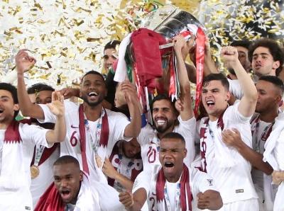 卡塔尔3:1日本首夺亚洲杯冠军 22岁神锋破纪录