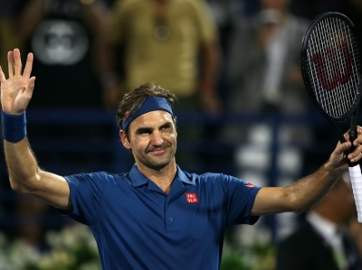ATP迪拜网球赛 费德勒战胜科赫尔斯奇雷伯