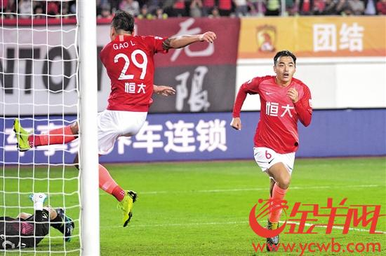 新人开门红 广州恒大新赛季首战主场完胜天津天海