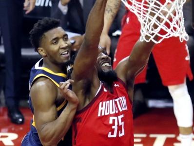篮球|NBA季后赛:火箭胜爵士