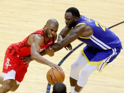 籃球丨NBA季后賽:火箭勝勇士