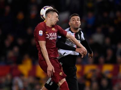 足球|意甲:罗马胜尤文图斯