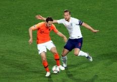 荷兰队加时赛击败英格兰队晋级欧洲国家联赛决赛