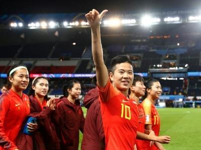 法国女足世界杯 中国女足1:0击败南非队