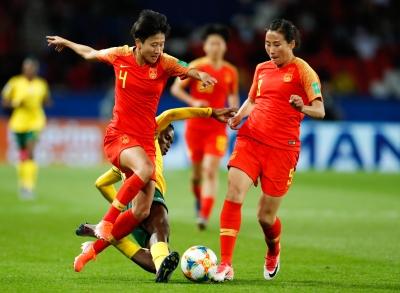 女足世界杯丨中国队赛前24小时轻松备战  娄佳惠:当最后一场球去拼
