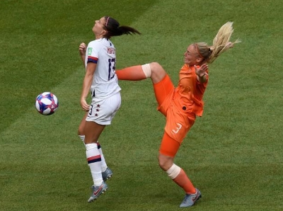 女足世界杯 美国2:0击败荷兰第四次夺得世界冠军