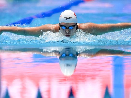 游泳世锦赛|叶诗文女子400米个人混合泳摘银