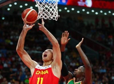 2019国际篮联篮球世界杯 中国队以70:55战胜科特迪瓦队