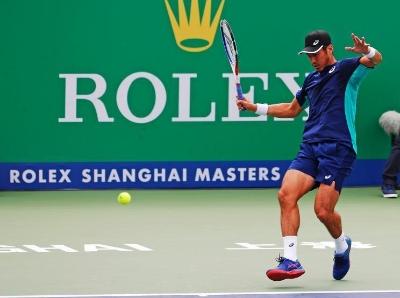 上海网球大师赛:中国选手李喆止步首轮