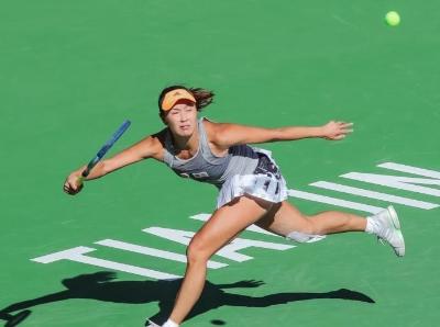 天津网球公开赛:彭帅挺进女单第二轮