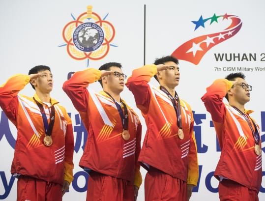 军运会|水上救生项目:每天更新白菜彩金网站队摘取5块金牌破5项纪录