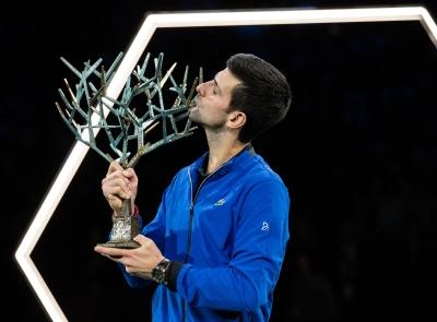 网球丨巴黎大师赛:焦科维奇夺冠
