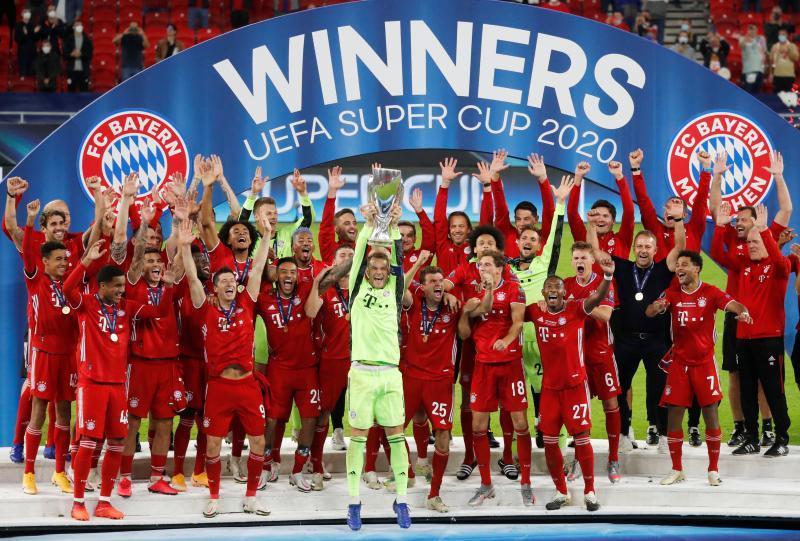 【欧洲超级杯】时隔7年,拜仁王者归来