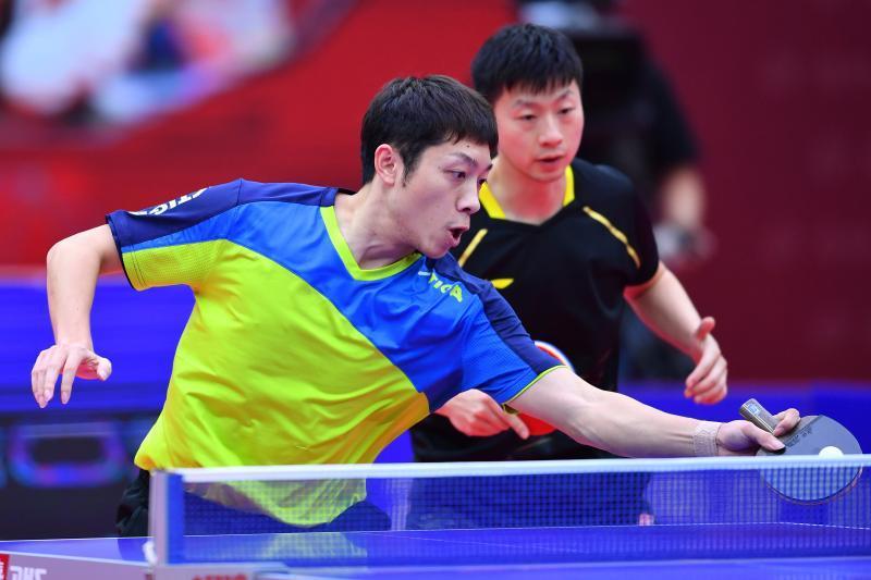 【全国乒乓球锦标赛】马龙/许昕上演逆转好戏,勇夺男双冠军